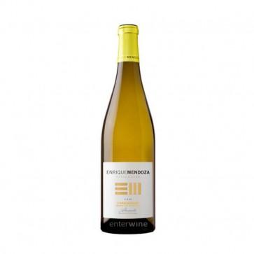 vino enrique mendoza chardonnay fermentado en barrica 2017