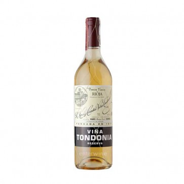 vino viña tondonia blanco reserva 2004