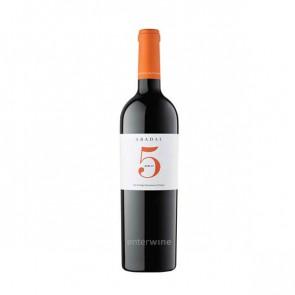 vino abadal 5 merlot 2017